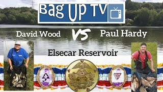 £1000 Fishing Match - David Wood VS Paul Hardy - Elsecar Reservoir - BagUpTV