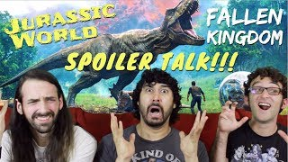 JURASSIC WORLD: FALLEN KINGDOM -  SPOILER REVIEW!!!