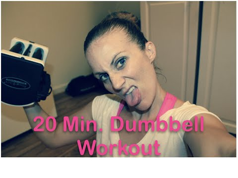 20 Min. Dumbbell Workout // Right Side vs. Left Side