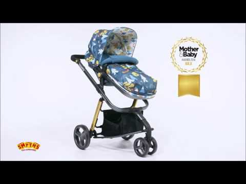 Smyths Toys - Cosatto Giggle 2 Fox Tale Travel System & Car Seat Bundle