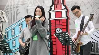 HANA菊梓喬 - 傻瓜裡的童話 @Joox Music in the City 20161203