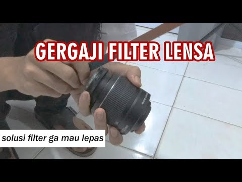 Gergaji Filter Lensa Karena Nga Bisa diLepas