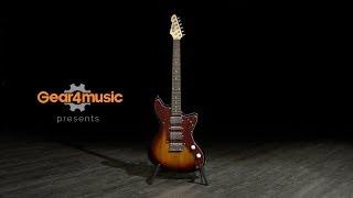 Seattle Electric Guitar by Gear4music, Sunburst | Gear4music demo Resimi