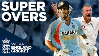 Flintoff To Ponting, Broad Takes Hat Trick, 6 Off The Last Ball | Super Overs! | England Cricket