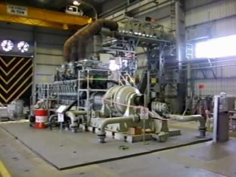 Engine Test Facility for up to 10.000 HP High Speed Marine Engines like MTU 20 V 1163_Tuzeks