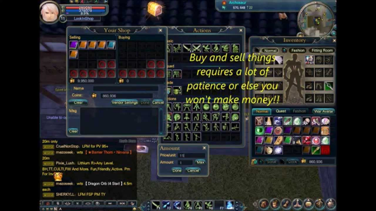 How to make money in Perfect World
