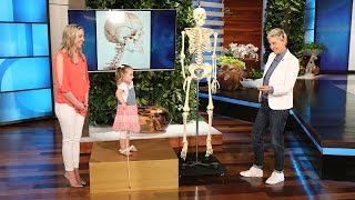 Brielle Teaches Ellen About the Human Body