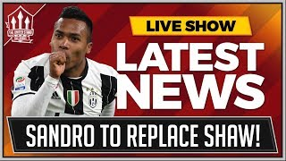 Alex SANDRO To MANCHESTER UNITED In January! MAN UTD News