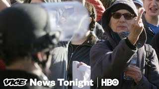 Paying To Protest & North Korea Soap Operas: VICE News Tonight Full Episode (HBO)