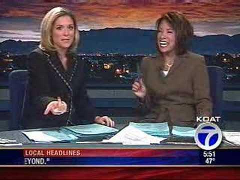 Marisa Maez and Chrstine Jones Laughing