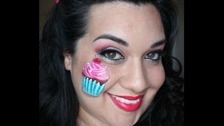 Cupcake Face Painting Tutorial Thumbnail