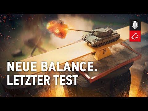 Entwicklertagebücher: Neue Balance. Letzter Test [World Of Tanks Deutsch]