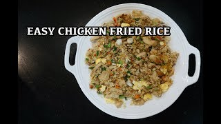 Chicken Fried Rice - How to make Chicken Fried Rice - Best Fried Rice Recipe