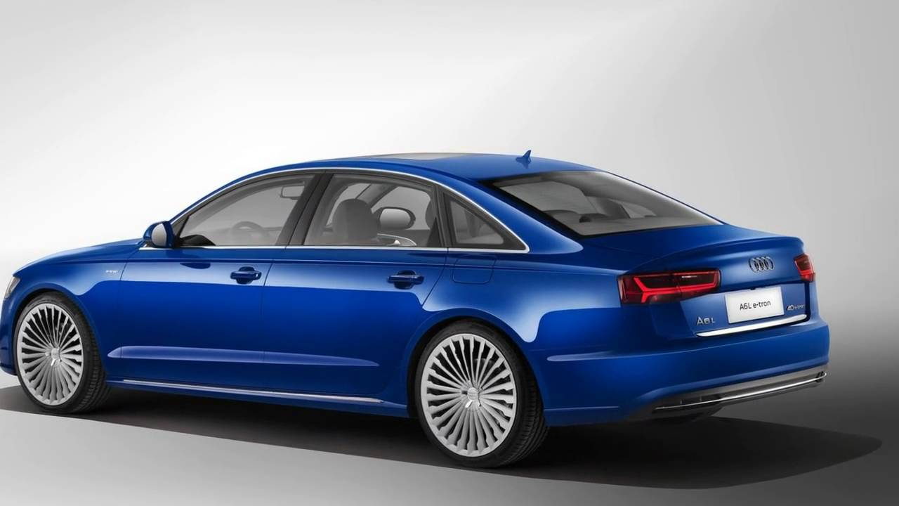 2017 Audi A6l E Tron