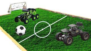 PHD | Đá Bóng Bằng Xe Địa Hình RC | Kick The Ball By RC Off-Road Vehicle