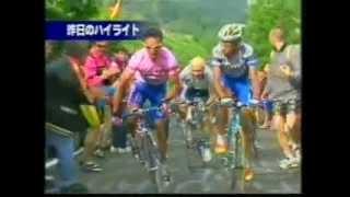 2001 ジロ・デ・イタリア 第14ステージ (観客を殴って追放)
