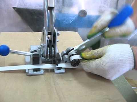 Ручная обвязка груза ПП лентой комбинированное устройсво+скоба