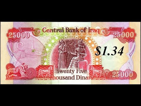 Can Iraq Revalue Above A Dollar?