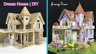 How to make a Beautiful Dreamhouse Cardboard