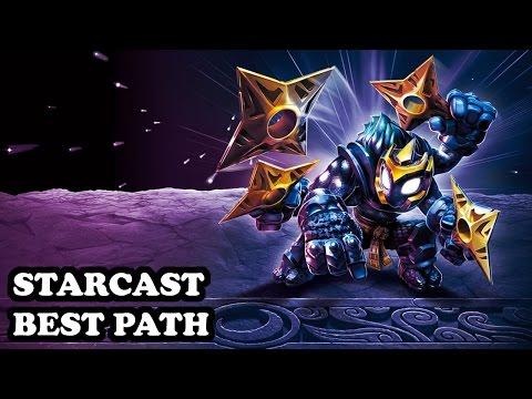 Skylanders Imaginators - Starcast - Megastart Me Up Path - BEST PATH - GAMEPLAY