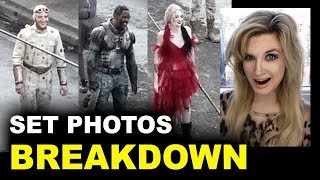 The Suicide Squad Set Photos - Harley Quinn First Look
