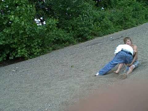 Stranded teens girls