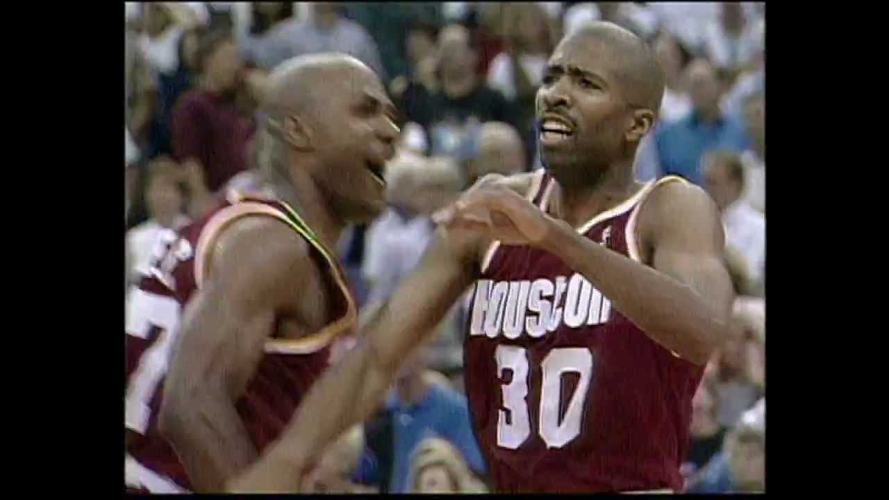 1995 Finals: Kenny Smith Drains Seven 3-Pointers - YouTube