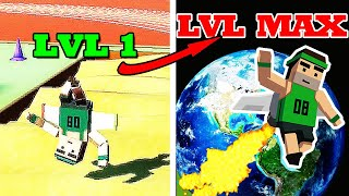 Jetpack Jump Unlimited Gold HACK! LEVEL 1 TO LEVEL MAX EVOLUTION!