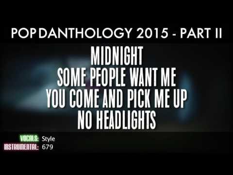 Pop Danthology 2015 - Part 2 (Lyrics And Song Titles)