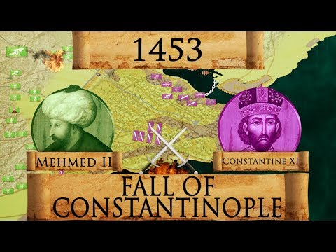 Fall Of Constantinople 1453 - Ottoman Wars DOCUMENTARY