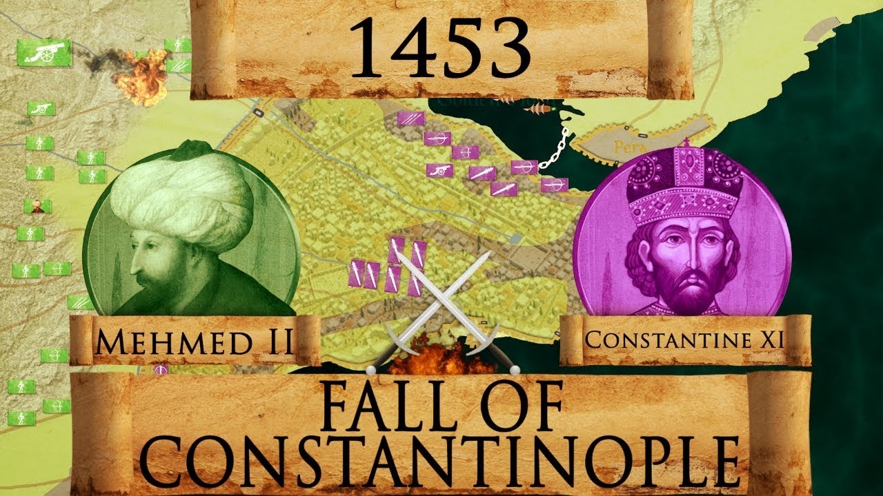 Fall Of Constantinople 1453 Ottoman Wars Documentary Youtube