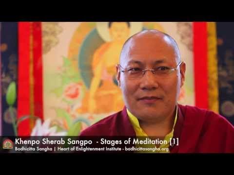 Stages of Meditation Retreat [session 1]