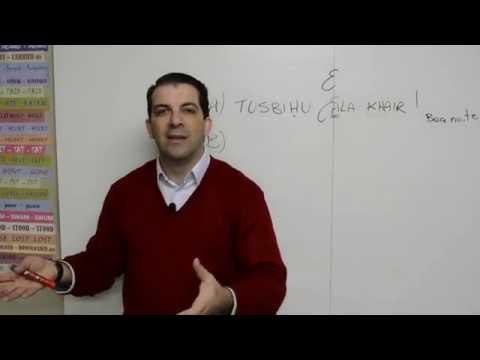 Boa noite em árabe - Lição 09