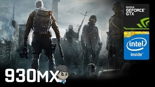 "930MX Gaming \ 15 Games in 10 Min \ ""GTA V"" ""Battlefield 1"" and more"