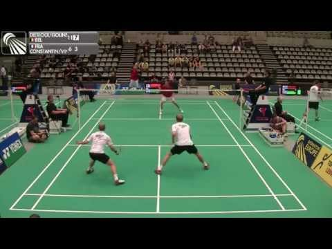 R32 - MD - M.Dierickx / F.Golinski vs L.Constantin / S.Vincent - 2014 Yonex Belgian International