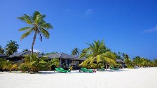 Мальдивы, остров Куреду, курортный спа-отель Kuredu Island, пляж, реальная съемка,
