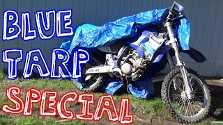 Trashed Yamaha Dirt Bike - Will It Run?