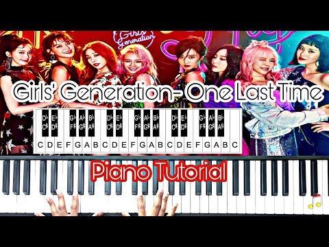 Girls' Generation (소녀시대) - One Last Time (Piano Tutorial) *Easy*
