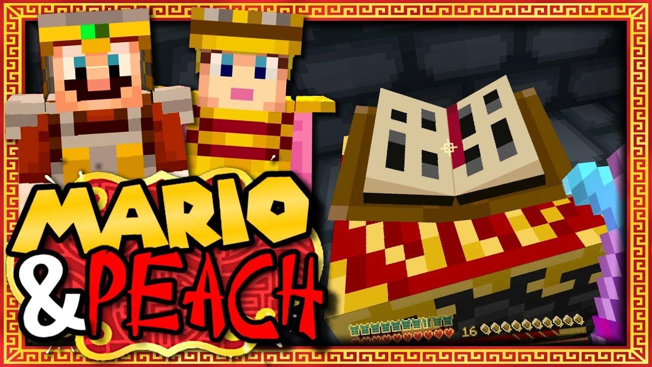 Mario et peach f tent le nouvel an chinois episode 10 la - Table d enchantement minecraft ...