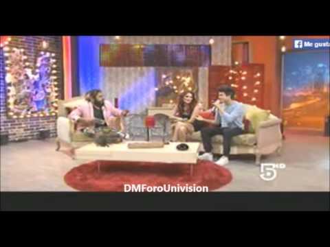 #VIDEO @DulceMaria en el programa @ElDiablitoShow [Parte 1]