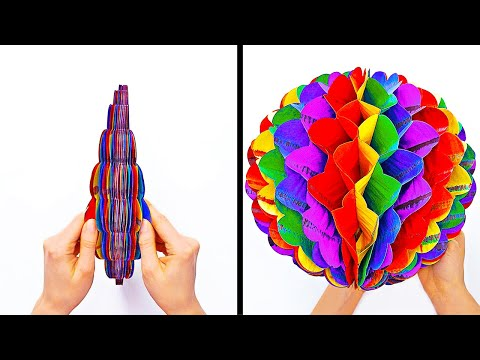 15 EASY PAPER CRAFTS AND ORIGAMI IDEAS