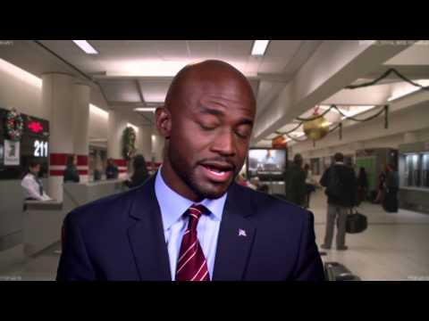 "Baggage Claim: Taye Diggs ""Langston"" On Set Movie Interview"