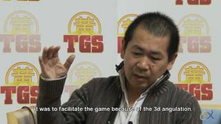 Yu Suzuki Interview at the Toulouse Game Show 2011 (English Subtitles)