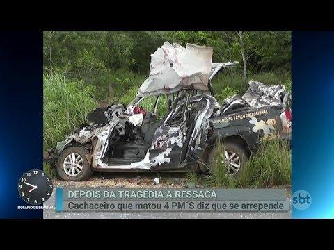 Motorista bêbado que causou acidente e matou PMs se diz arrependido | Primeiro Impacto (07/03/18)