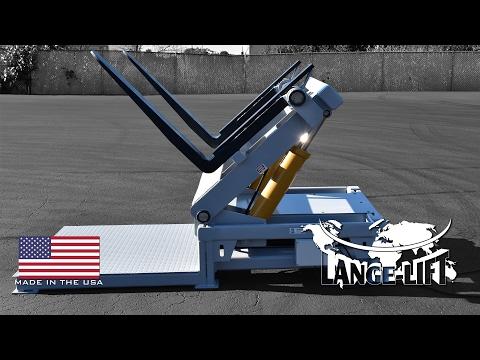 Tilter with Adjustable Forks | 20,000 Pound Capacity