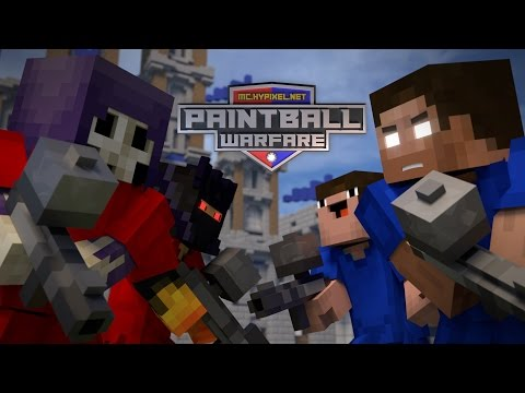 Paintball Warfare - Part 1 [Minecraft Hypixel Animation]