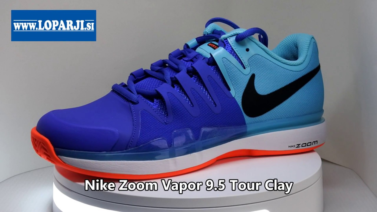0486a94c0cae7 Tenis copati Nike Zoom Vapor 9.5 Tour Clay - YouTube