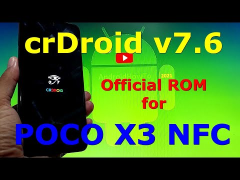 crDroid v7.6 Official for Poco X3 NFC (Surya) Android 11