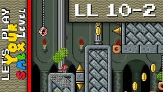 """LL10-2: Impossible Dungeon (PaperPlayerX) - [Let's Play Your SMBX Level """"Leftover Levels""""]"""