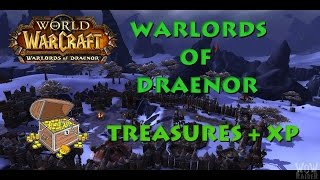 World of Warcraft : Warlords of Draenor ► Treasures & Chests & Resources #1